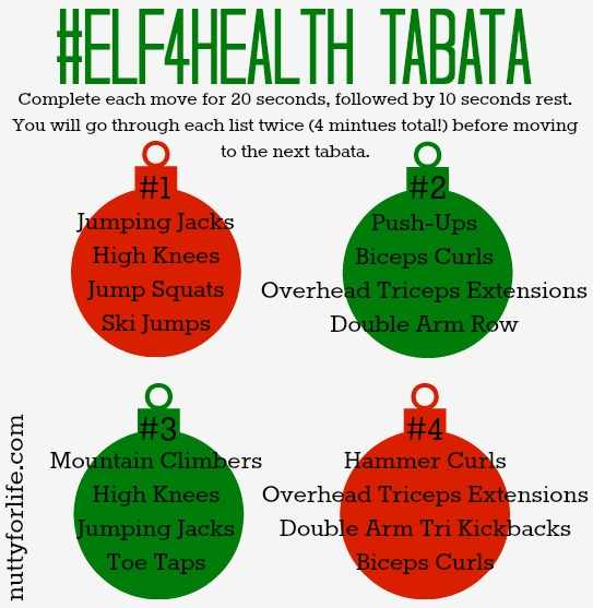 Elf4Health Tabata - Nutty for Life