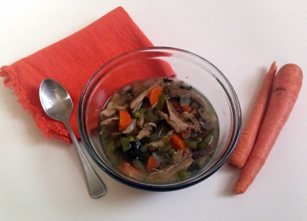 Spring Vegetable Chicken Soup 3