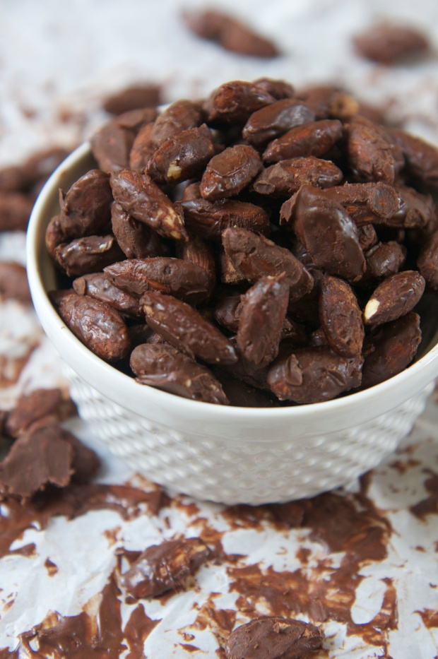Chocolate Covered Almonds 3