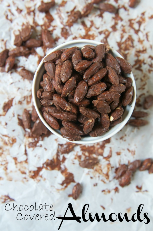 Chocolate Covered Almonds 4