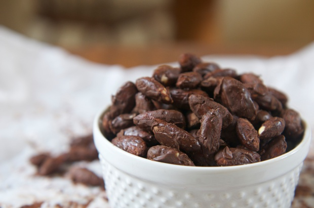 Chocolate Covered Almonds 5