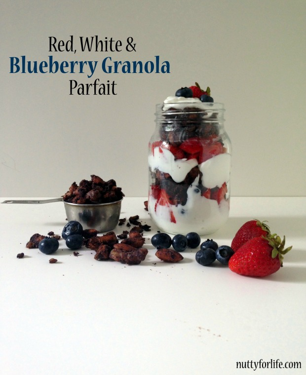 Red White and Blueberry Granola Parfait_1