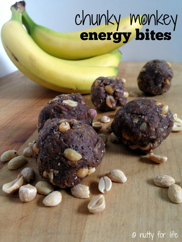 Chunky Monkey Energy Bites - Nutty for Life